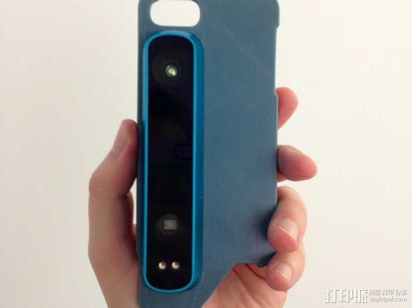 iPhone 5/5s手机外壳 三维结构扫描仪支架 3D打印模型渲染图