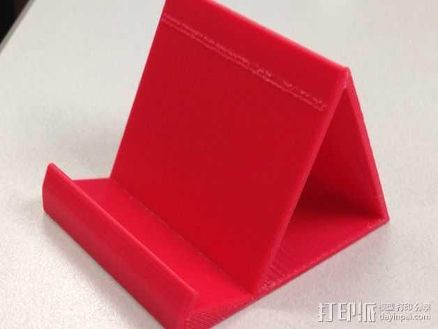 iPhone5 手机支架 3D打印模型渲染图