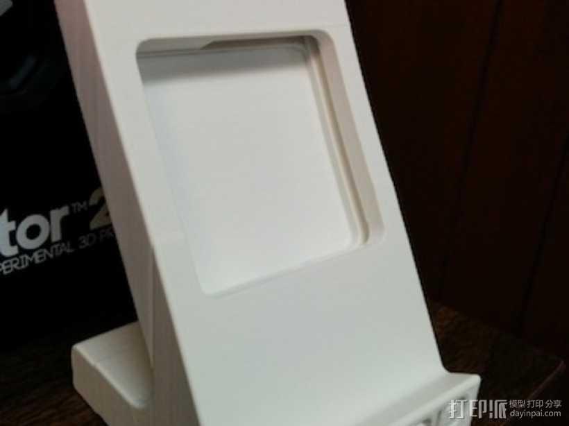 Nexus 5 手机充电座 3D打印模型渲染图
