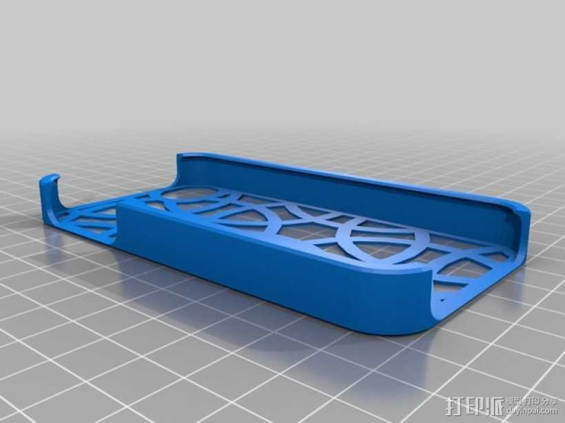 手机外壳 3D打印模型渲染图