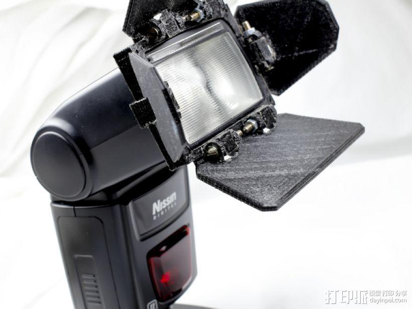 相机挡光板 3D打印模型渲染图