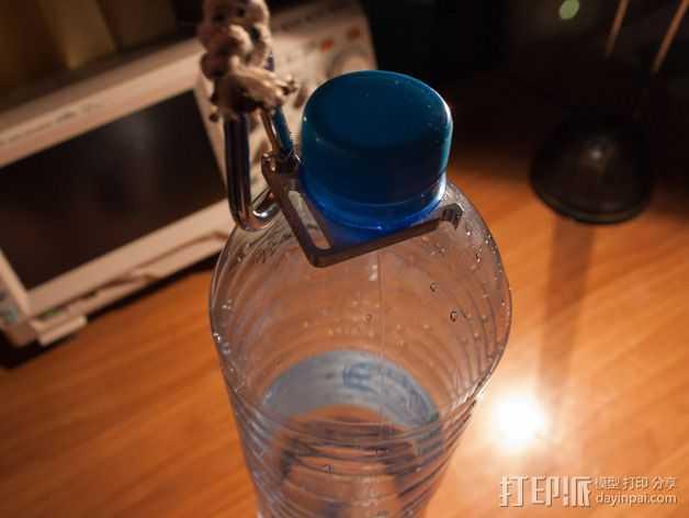 水瓶架 3D打印模型渲染图