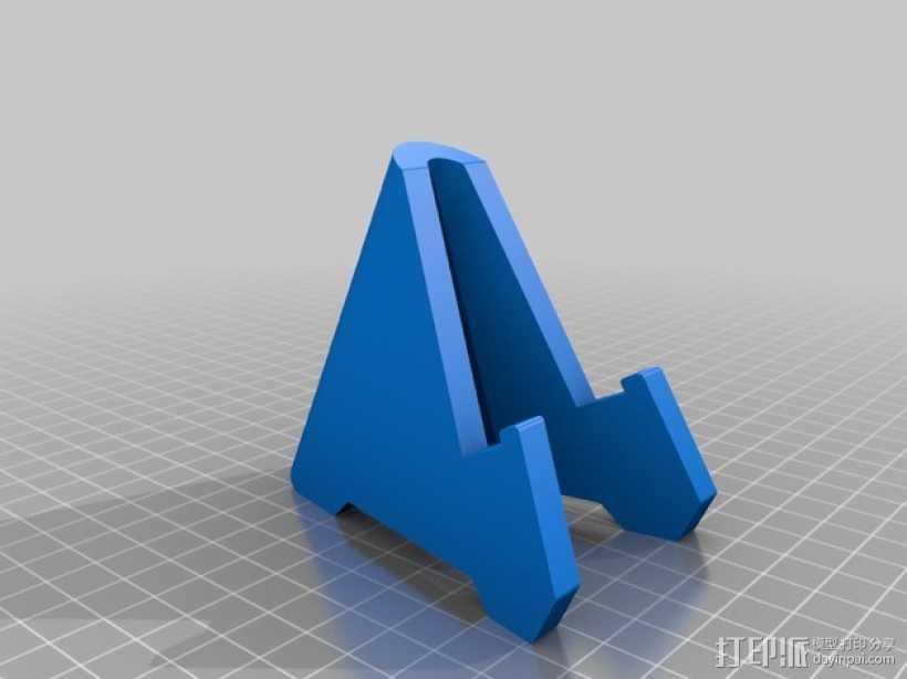 智能手机站架 3D打印模型渲染图