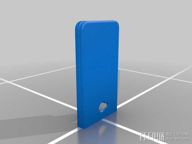 HTC one手机外壳 3D打印模型渲染图