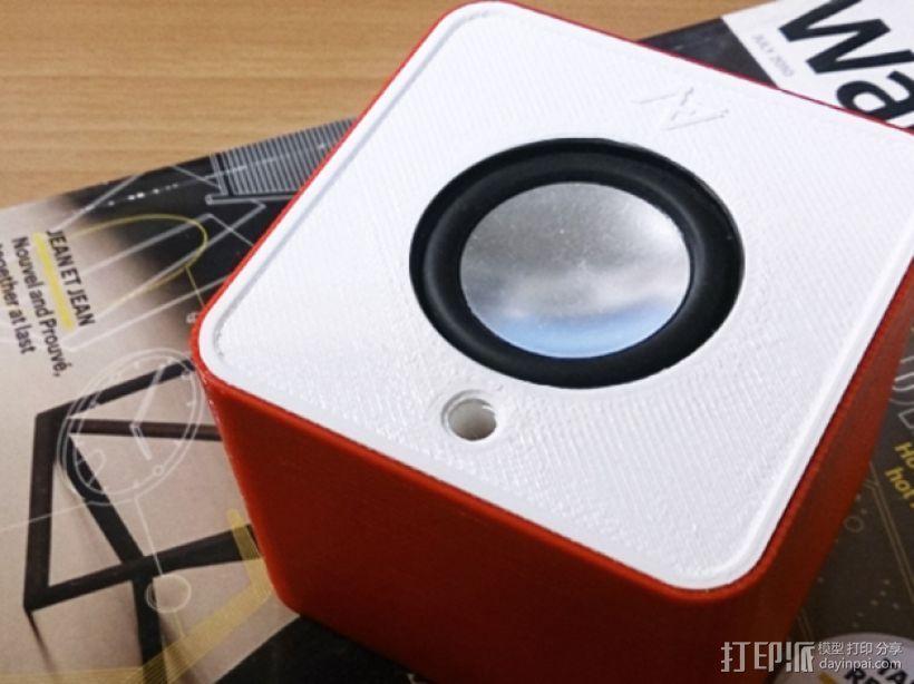 音箱 3D打印模型渲染图