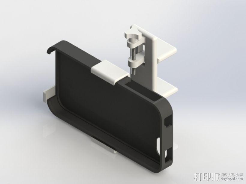车用(或其他用途)iphone支架 3D打印模型渲染图