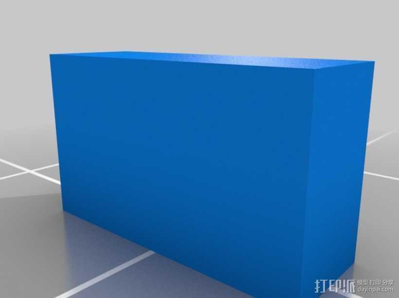 树莓派保护外盒 3D打印模型渲染图