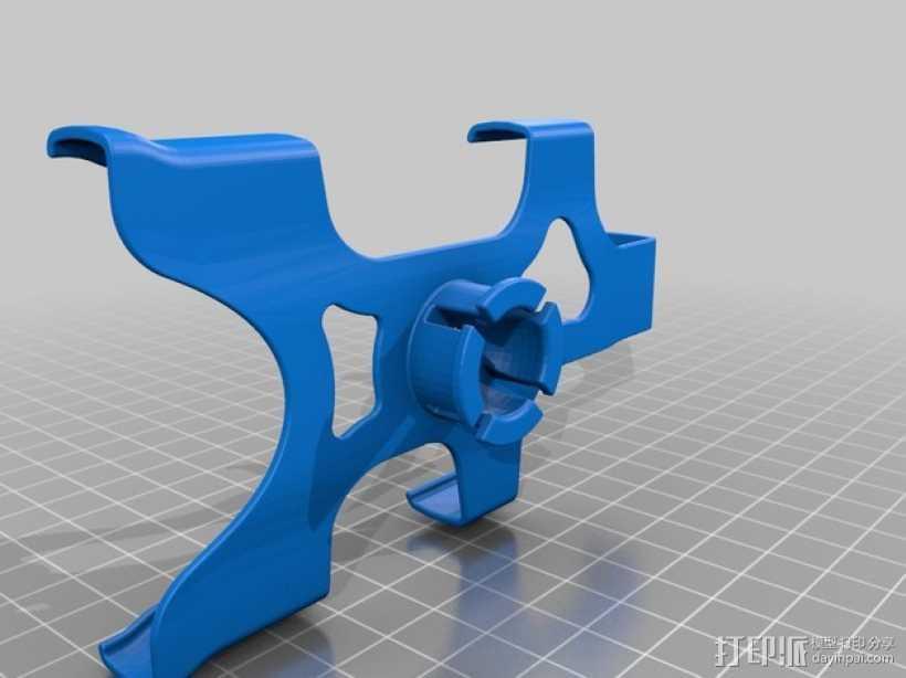 iphone5s车夹 3D打印模型渲染图