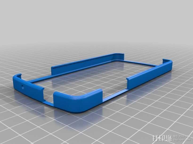 Nexus 5缓冲器 3D打印模型渲染图