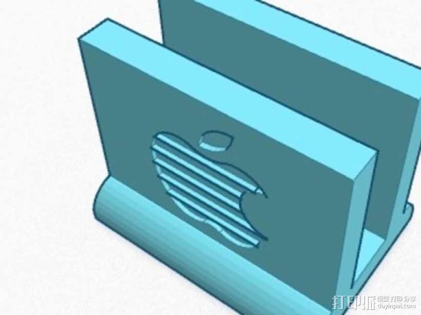 13,3英寸 Mac book站架 3D打印模型渲染图