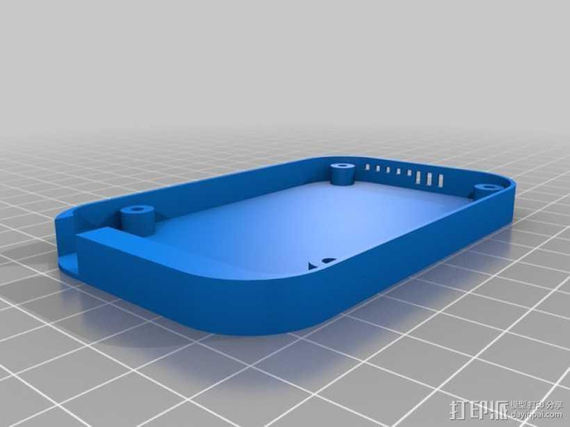 Beaglebone Black 保护套 3D打印模型渲染图