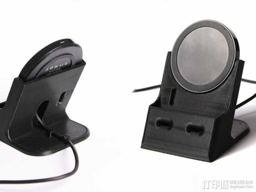 Nexus 4/5无线充电器站架 3D打印模型渲染图