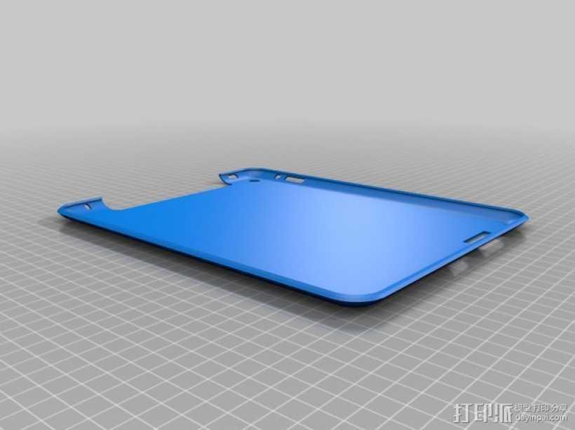 iPad 2,3,4保护套 3D打印模型渲染图