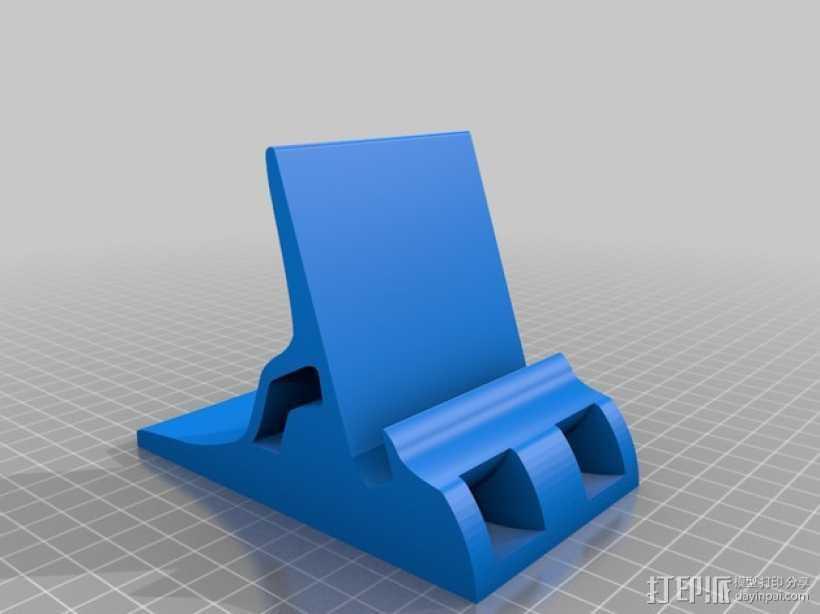 Nexus 5视频通话站架V2 3D打印模型渲染图