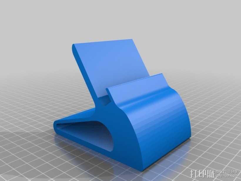 Nexus 数据接口站架 3D打印模型渲染图