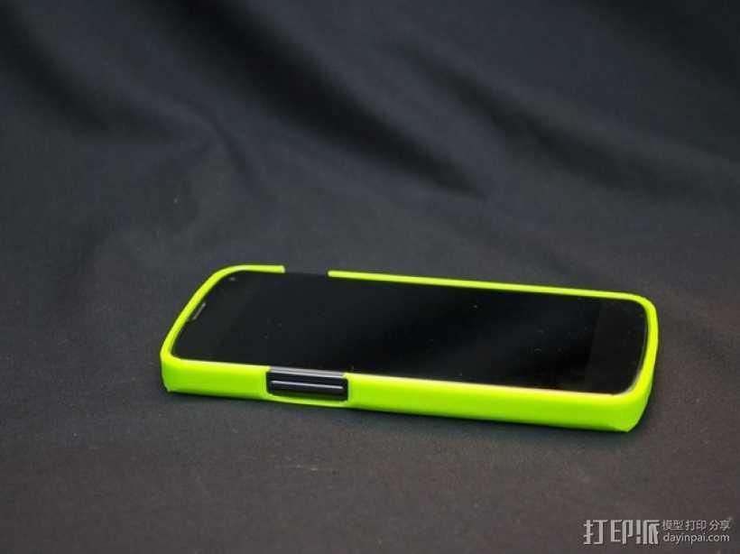 Nexus 4缓冲器 3D打印模型渲染图