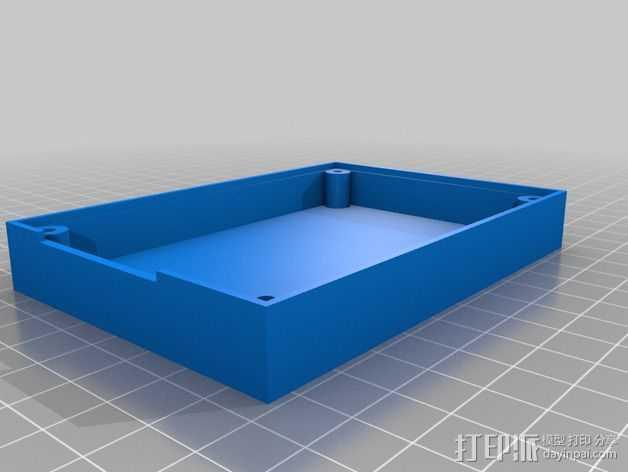 英特尔Galileo外壳 3D打印模型渲染图