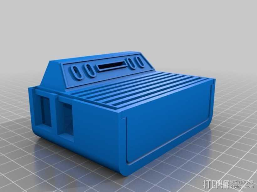 Atari 2600 树莓派外盒 3D打印模型渲染图
