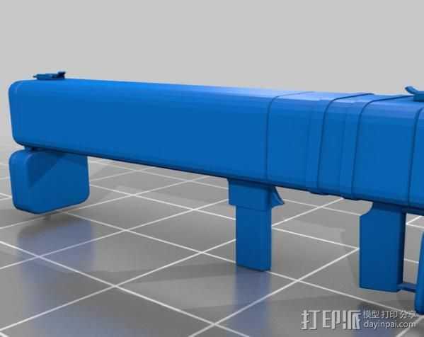 边防要塞 黑盒子 3D打印模型渲染图