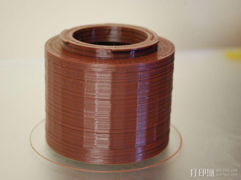 尼康相机镜头适配器 3D打印模型渲染图