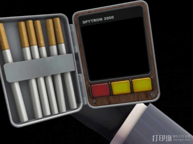 军团要塞 香烟盒 3D打印模型渲染图