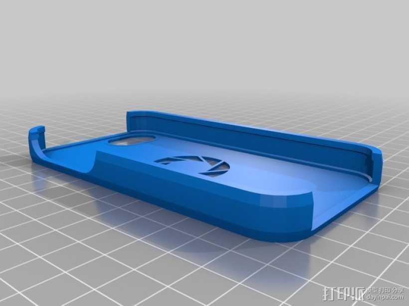 iPhone 手机套 iPod Touch 4播放器保护套  3D打印模型渲染图