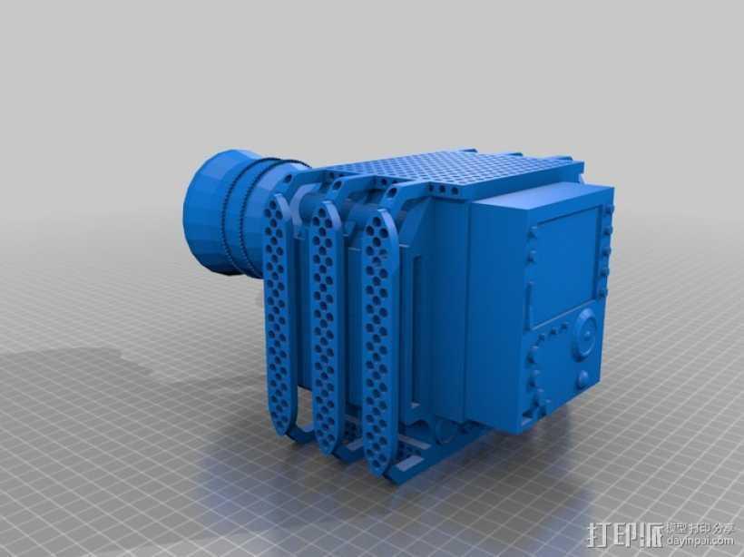 RED Epic摄像机 3D打印模型渲染图
