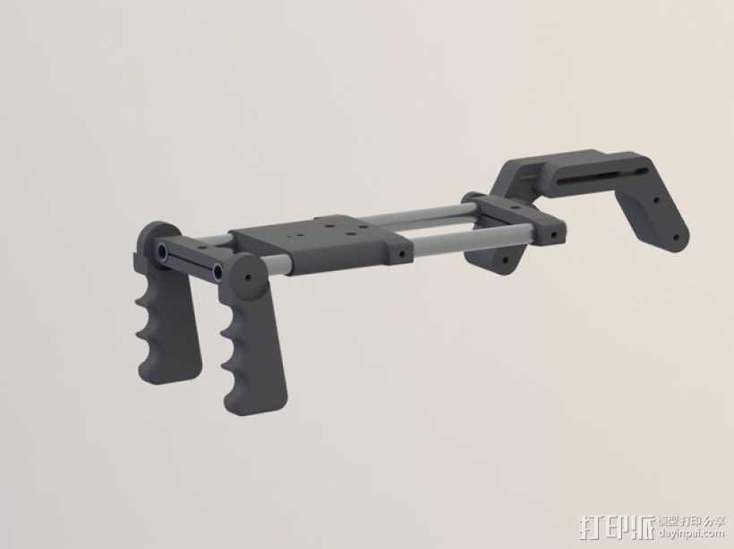 相机肩架 3D打印模型渲染图