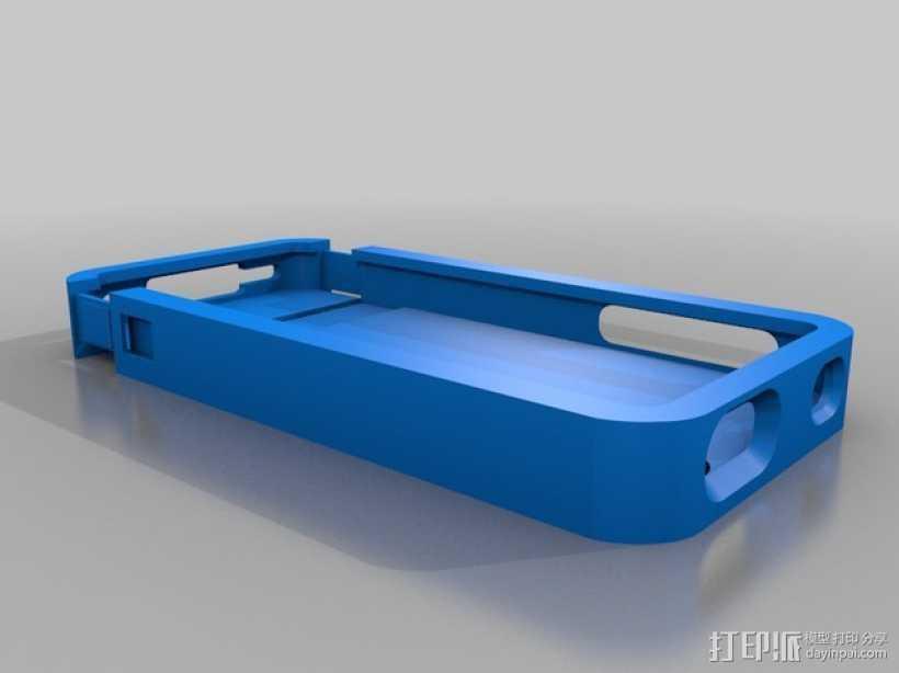 Iphone 4s手机套 3D打印模型渲染图