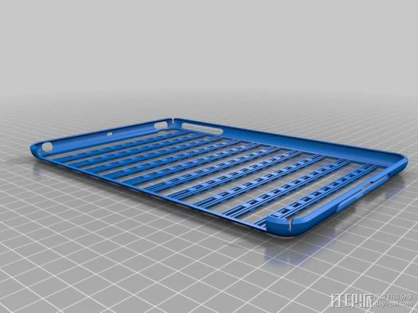 iPad Mini 平板电脑保护罩 3D打印模型渲染图