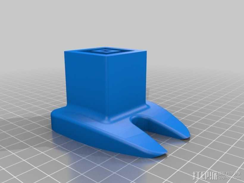 操纵杆 控制杆 3D打印模型渲染图
