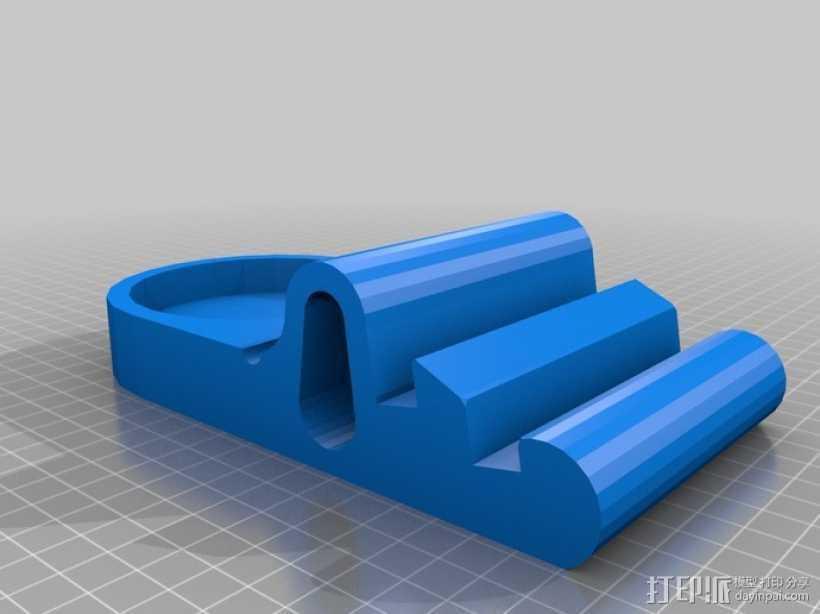 iPad支撑架 3D打印模型渲染图