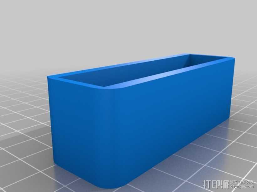 增强版iPhone手机支架 3D打印模型渲染图