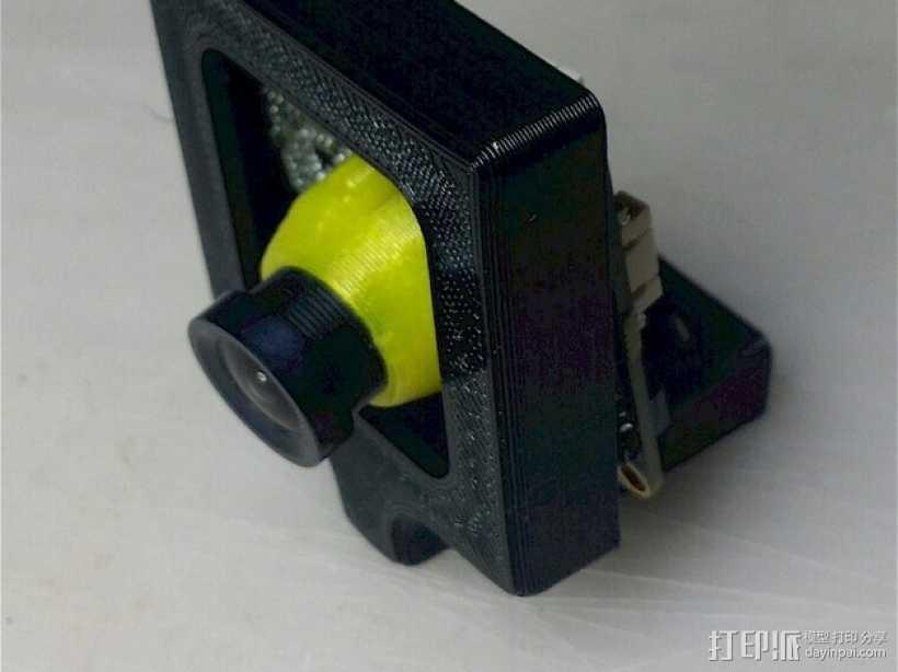 相机外壳支架 3D打印模型渲染图