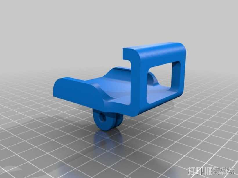GoPro 相机托架 3D打印模型渲染图
