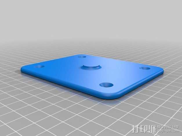 球架 3D打印模型渲染图