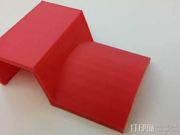 挂钩 3D打印模型渲染图