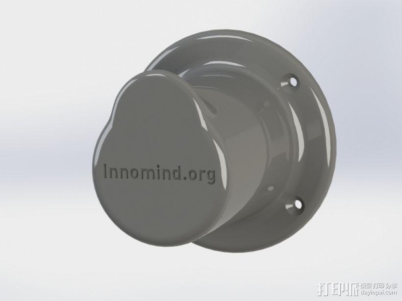 耳机座 3D打印模型渲染图