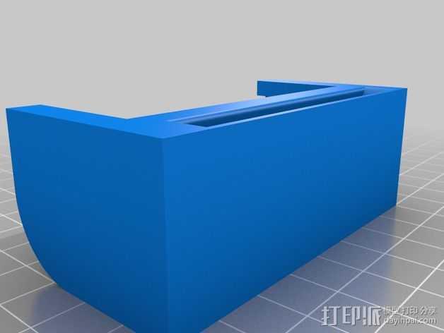 ZTE手机座 3D打印模型渲染图