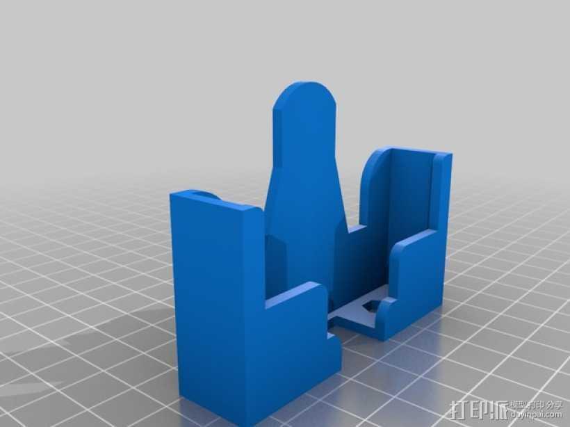 iphone5手机壳 3D打印模型渲染图