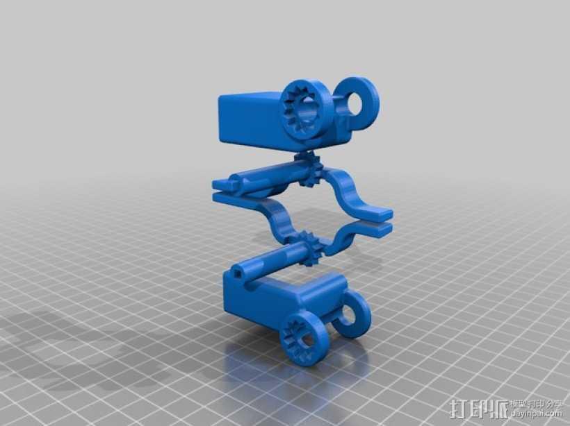 iphone 5s手机座 3D打印模型渲染图