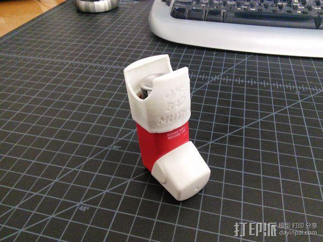 吸入器 3D打印模型渲染图