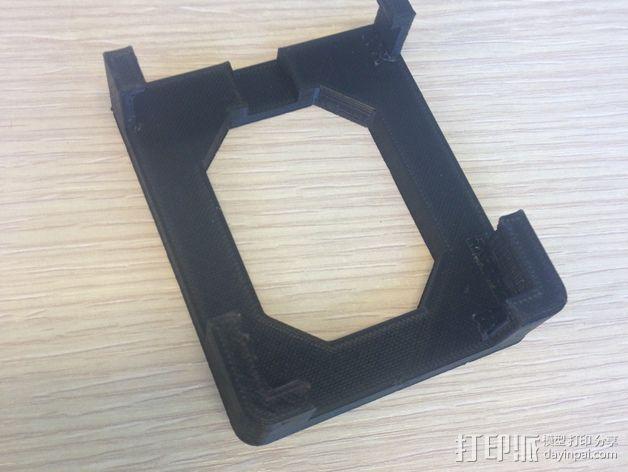 iphone4s车载手机座 3D打印模型渲染图