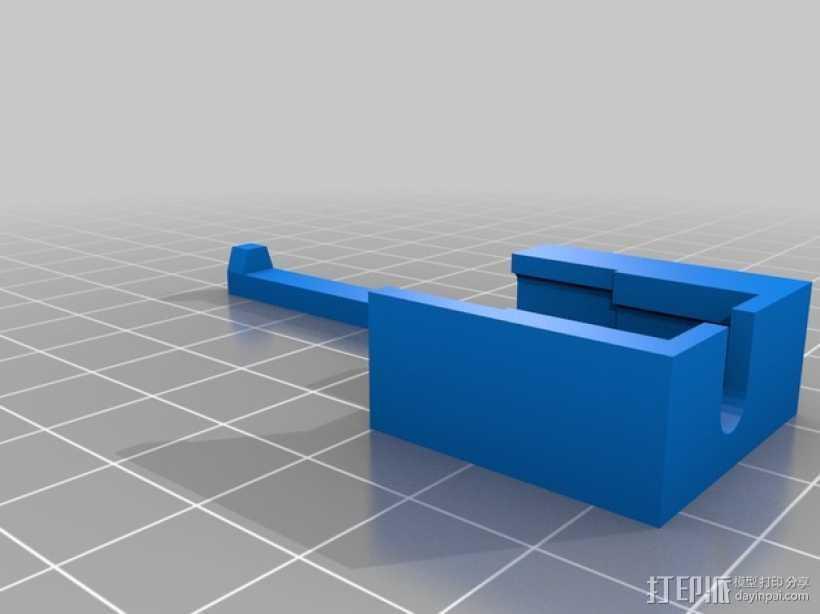 苹果电脑转换器 3D打印模型渲染图