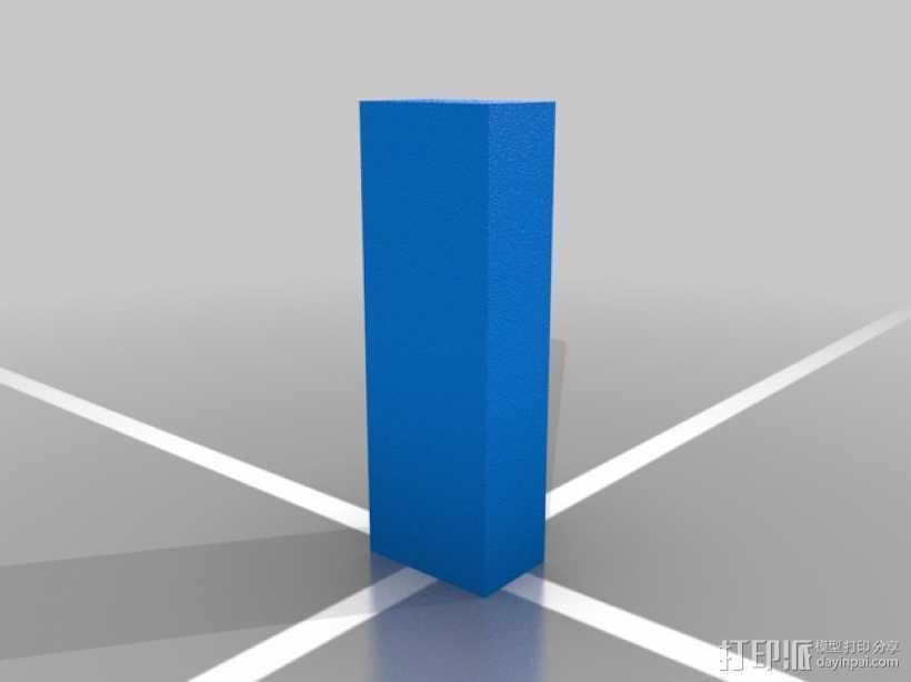 壁柱 3D打印模型渲染图
