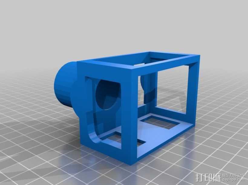 望远镜适配器 3D打印模型渲染图