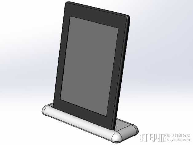 Kindle Paperwhite 3D打印模型渲染图