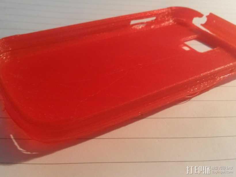 Samsung Galaxy S4 手机壳 3D打印模型渲染图