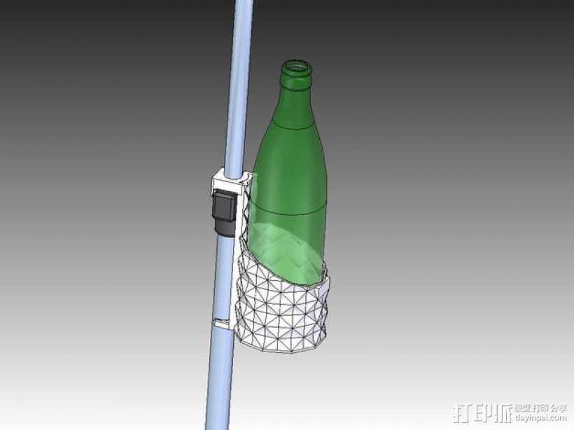 杯架 3D打印模型渲染图