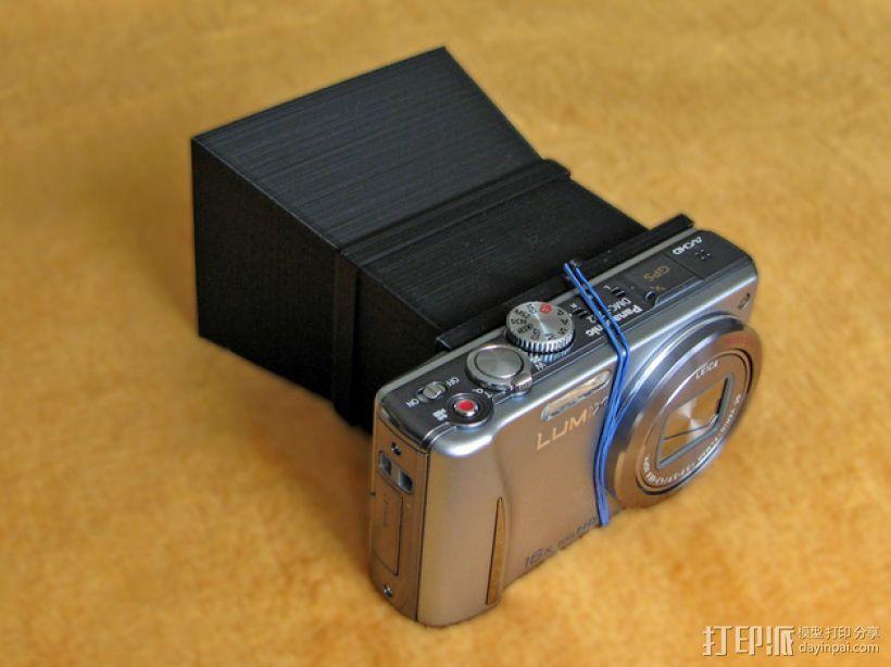 照相机自制镜头 3D打印模型渲染图
